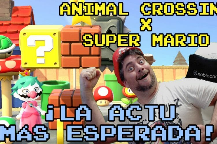 Animal Crossing X Super Mario