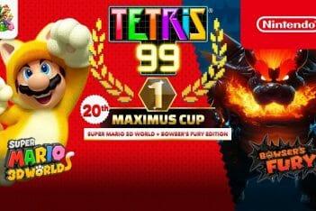 Tetris 99 con Super Mario 3D World + Bowser's Fury