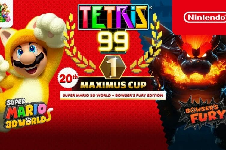 Tetris 99 con Super Mario 3D World + Bowser's Fury