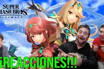 Reacciones Super Smash Bros.