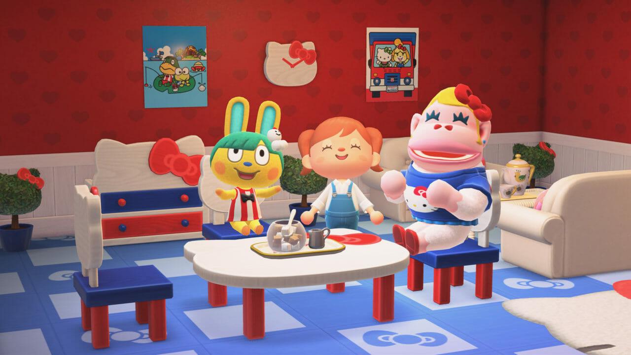 Actualización Sanrio Hello Kitty Animal Crossing New Horizons