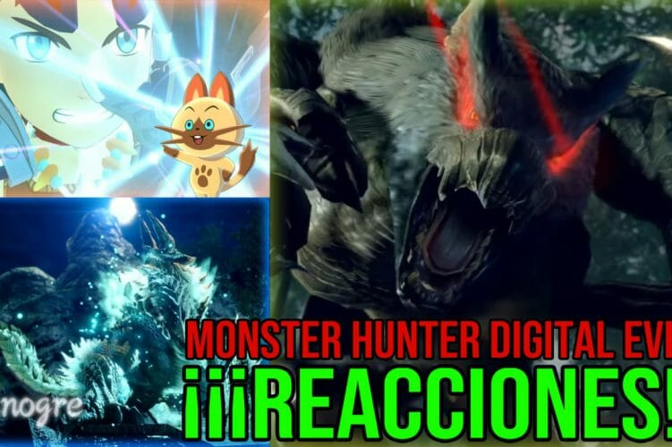 Monster Hunter Digital EventREACCIONES Monster Hunter Digital Event