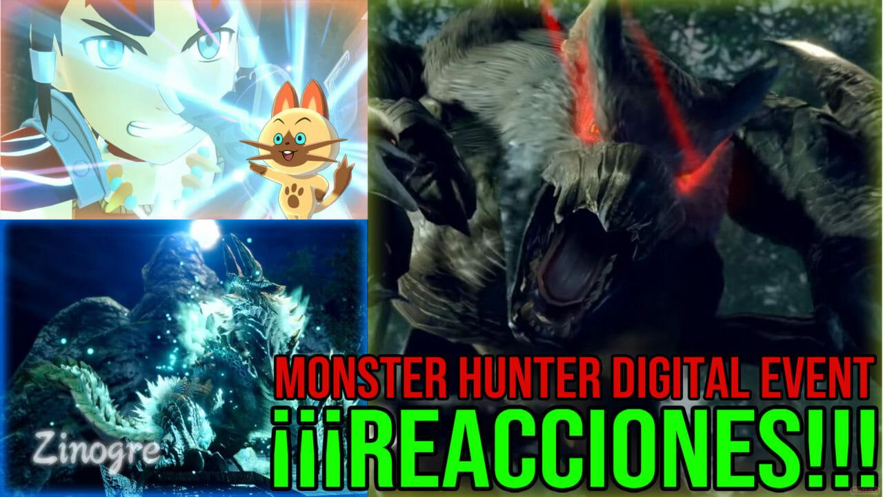 Monster Hunter Digital EventREACCIONES Monster Hunter Digital Event