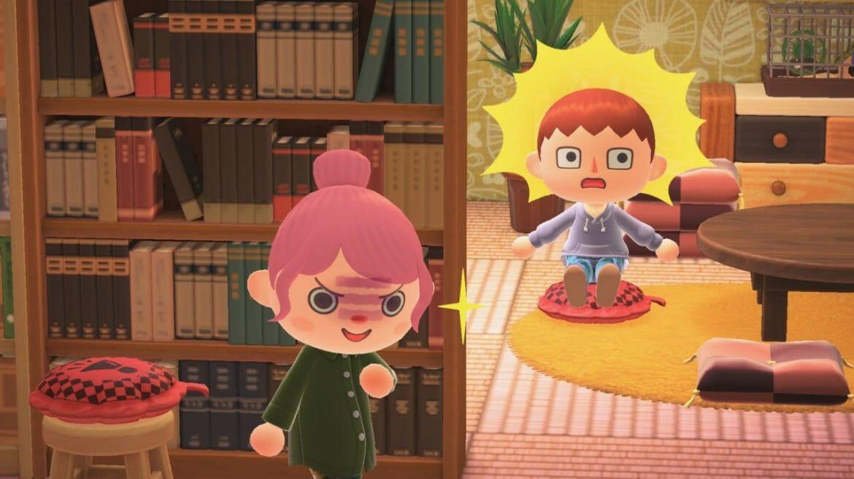 Cojín de broma, cojín de pedos Animal Crossing: New Horizons