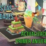 Animal Crossing New Horizons actualizacion aniversario