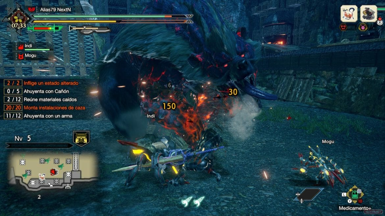 Guía Monster Hunter Rise Arzuros Apex Frenesí