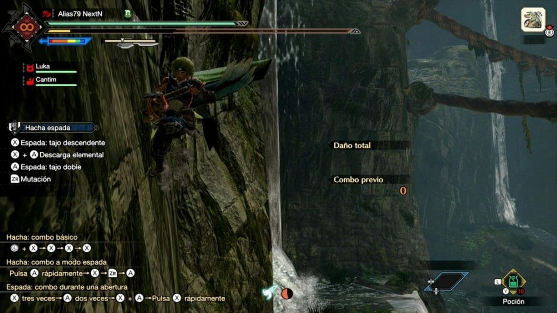 Guía Monster Hunter Rise Correr pared correparedes