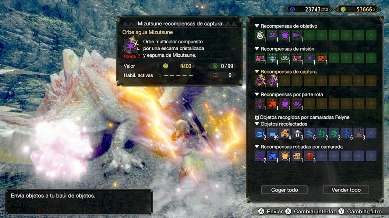 Guía Monster Hunter Rise Materiales raros monstruo