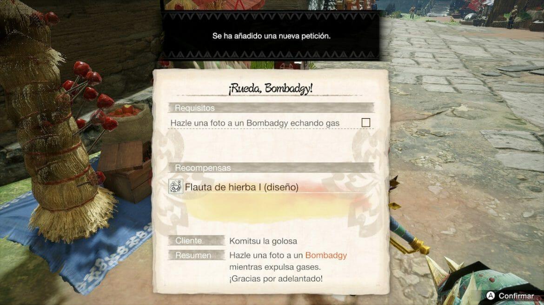 Guía Monster Hunter Rise Submisión foto