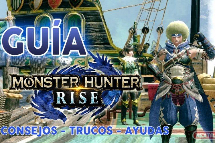 Guia Monster Hunter Rise Trucos