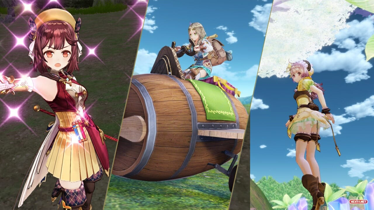 Atelier Mysterious Trilogy Deluxe Pack DX Reservas Nintendo Switch Abiertas Descuento 10%