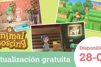 Animal Crossing New Horizons actualización 28 abril