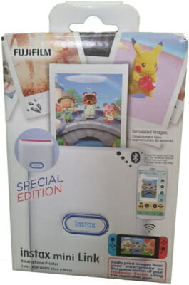 Análisis instax mini Link Special Edition Nintendo Switch