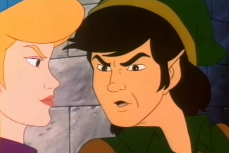 The Legend of Zelda anime cartoon