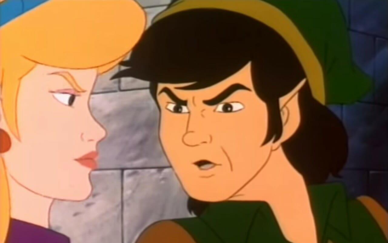 The Legend of Zelda anime cartoon