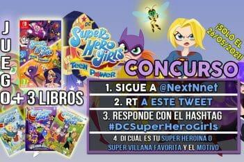 Concurso DC Super Hero Girls Teen Power