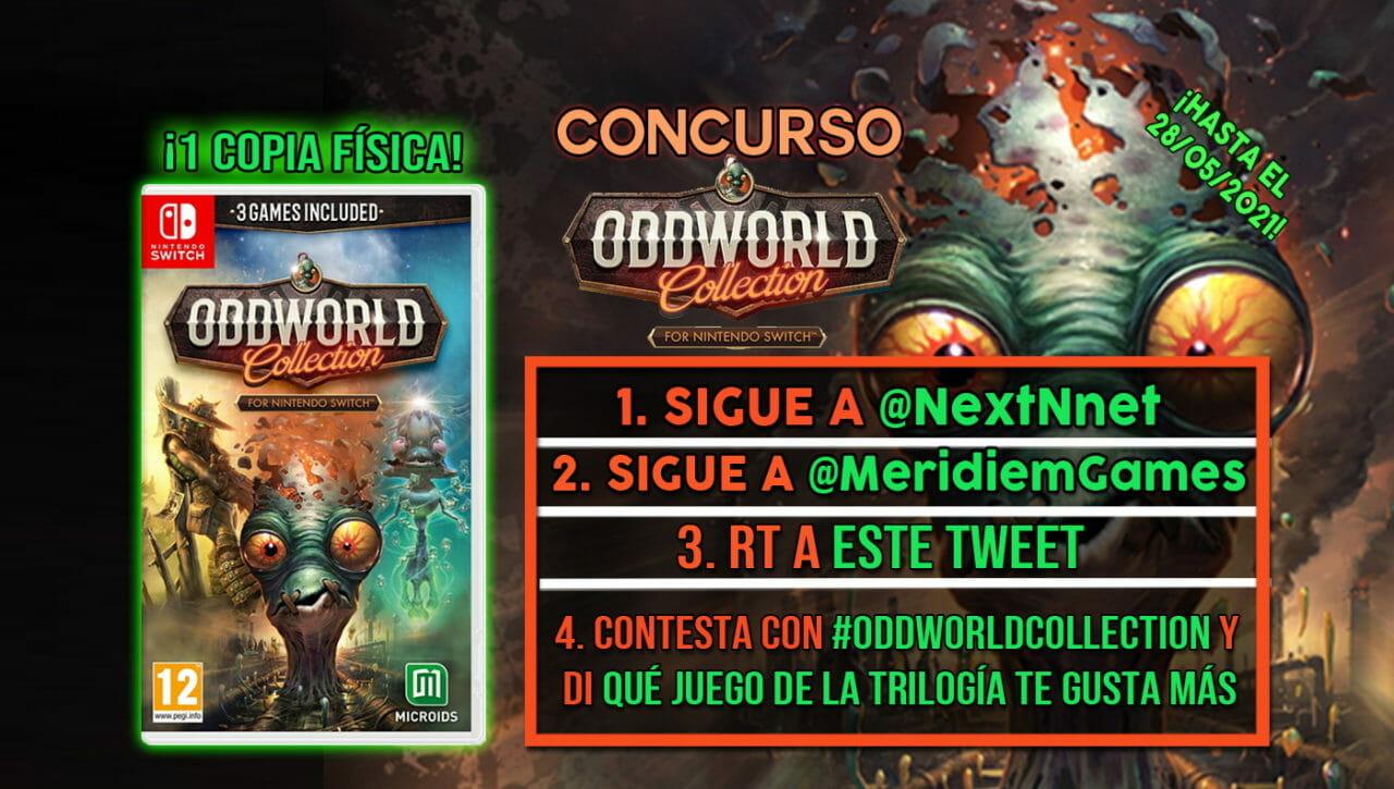 Concurso Oddworld Collection