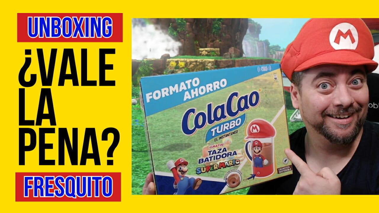 Unboxing Taza batidora ColaCao