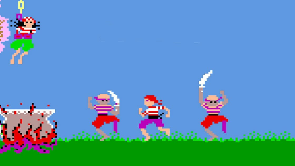 Pirate Pete Arcade Archives