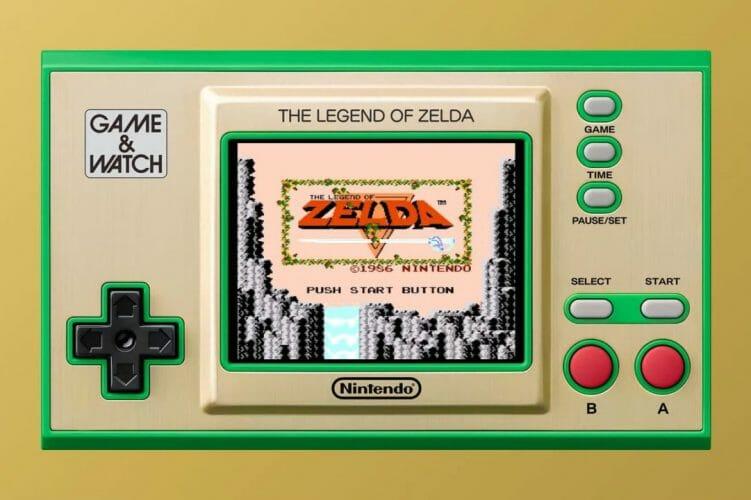 Game&Watch Zelda