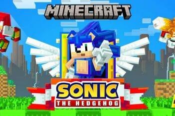 Sonic Minecraft DLC