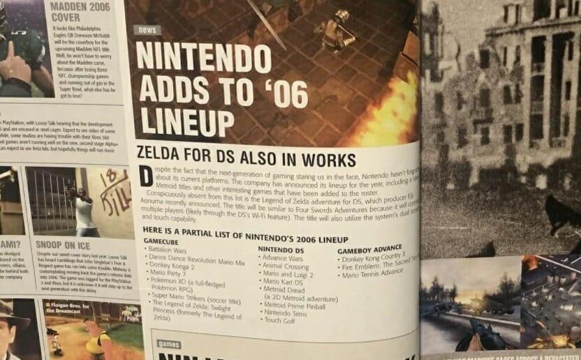 Revista Game Informer, Junio 2005