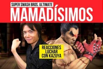 Super Smash Bros. Ultimate reacciones Kazuya Tekken