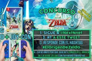 Concurso The Legend of Zelda Skyward Sword HD + Joy-Con Zelda