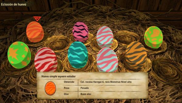 Guía Monster Hunter Stories 2 monsties Huevos