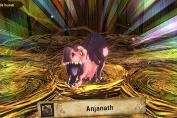 Guía Monster Hunter Stories 2 monsties Huevos Anjanath