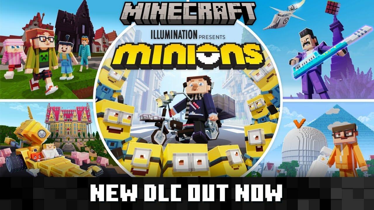 Minecraft Minions Gru