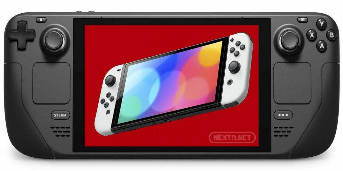 Steam Deck Nintendo Switch PRO OLED