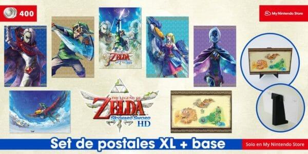 2107-20 Postales Zelda