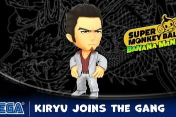 Super Monkey Ball Banana Mania Kazuma Kiryu Yakuza