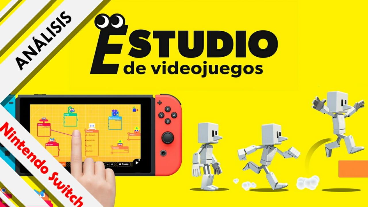 Análisis Estudio de Videojuegos Game Builder Garage