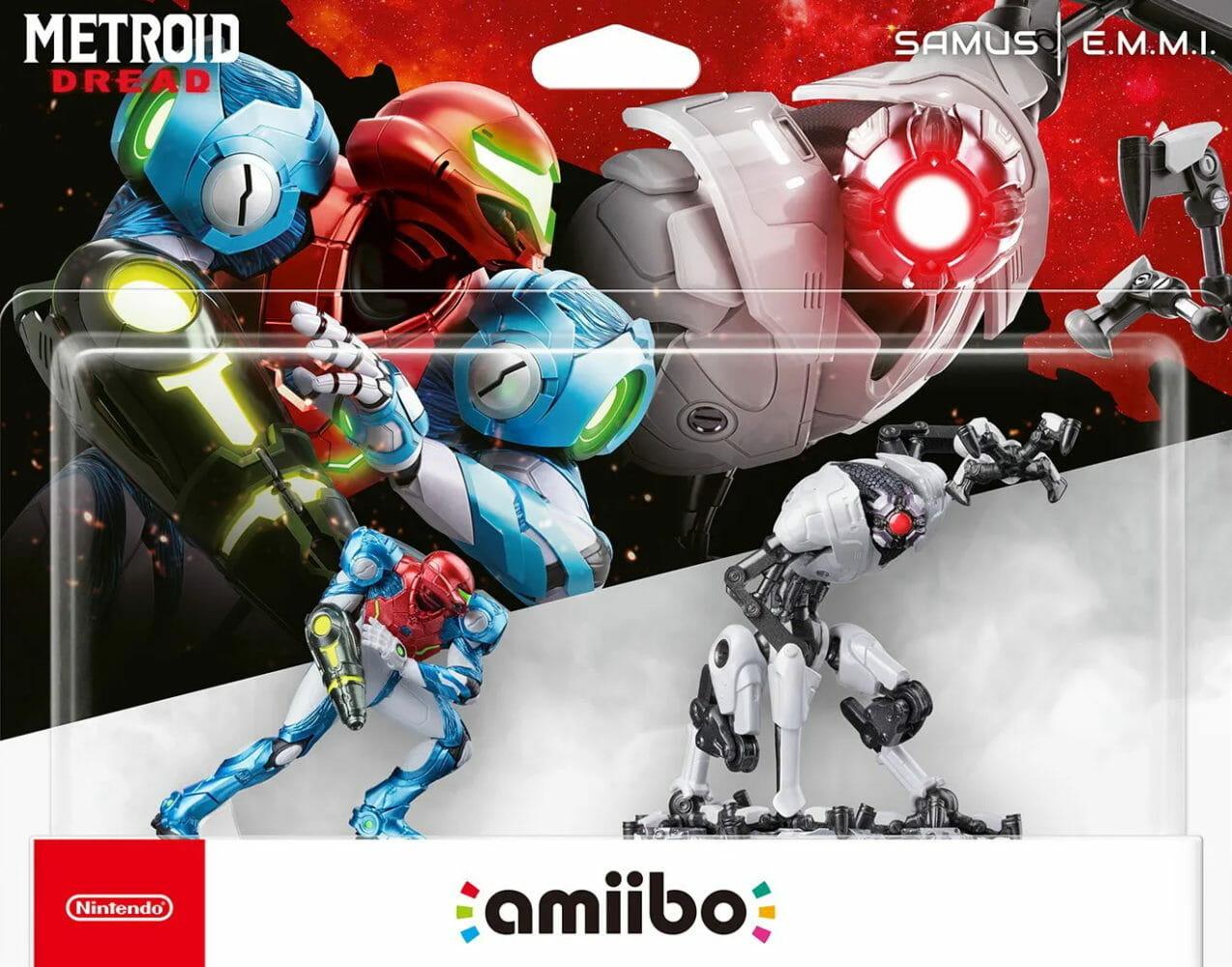 amiibo Metroid Dread Samus Aran E.M.M.I.