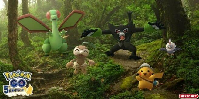 Pokémon GO evento Zarude