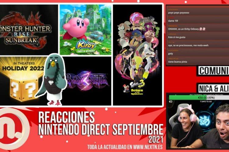 Reacciones Nintendo Direct septiembre 2021
