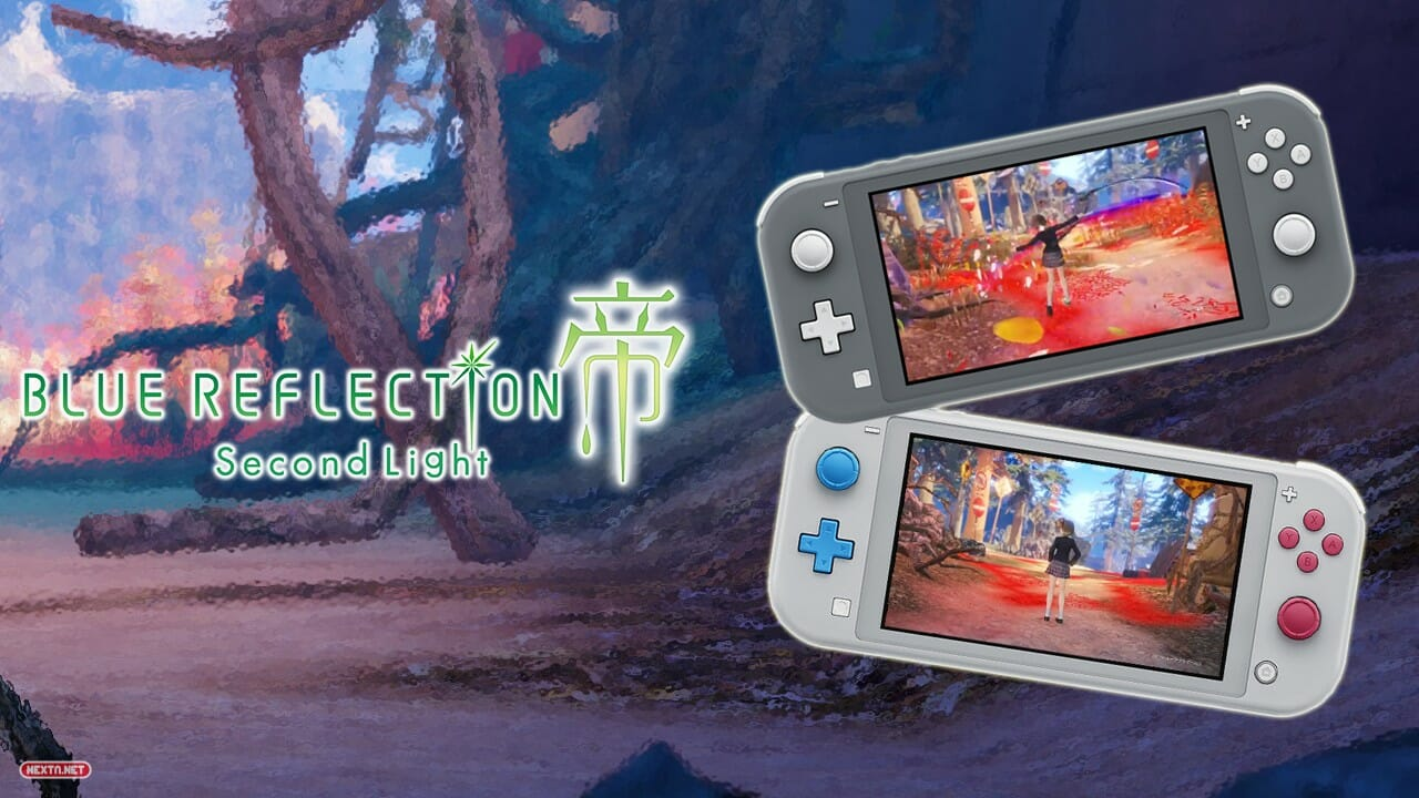 Blue Reflection Second Light Mecánica Cortar Césped Nintendo Switch