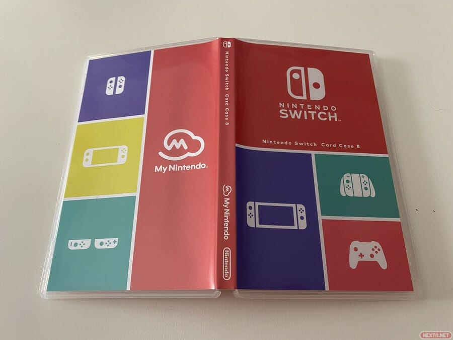 estuche cartuchos Switch My Nintendo
