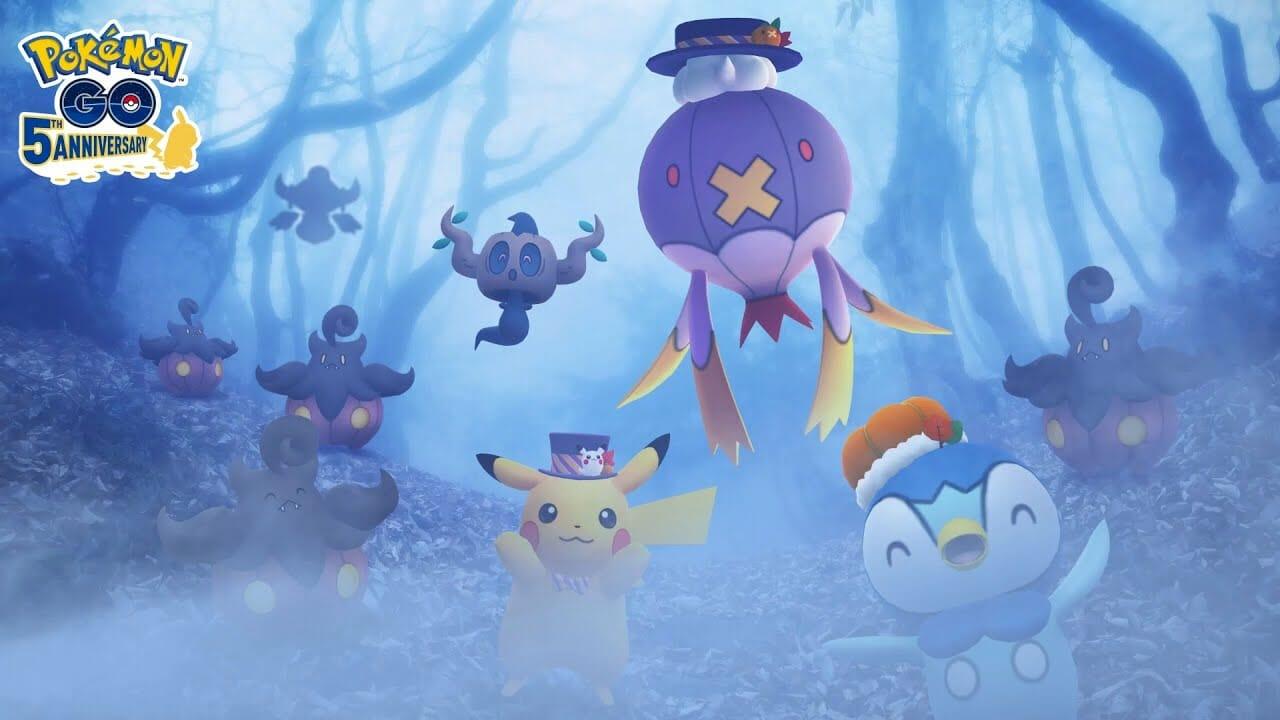 Pokémon GO Halloween 2021