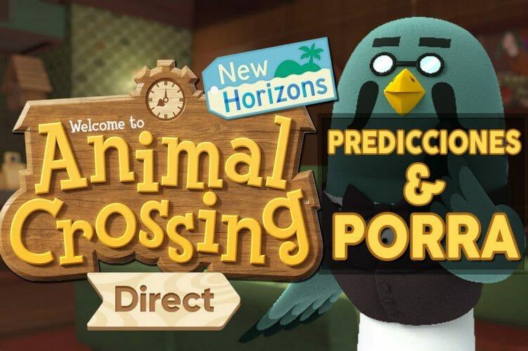 Animal Crossing New Horizons Direct 15-10-21 predicciones porra actualización noviembre