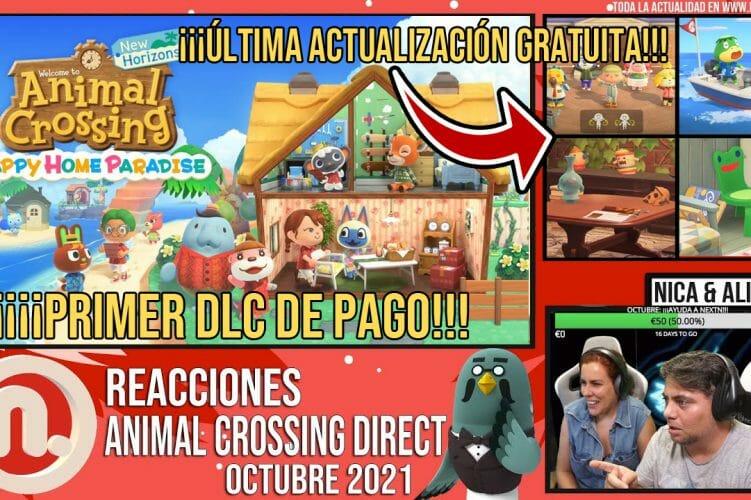 Reacciones Animal Crossing New Horizons Direct