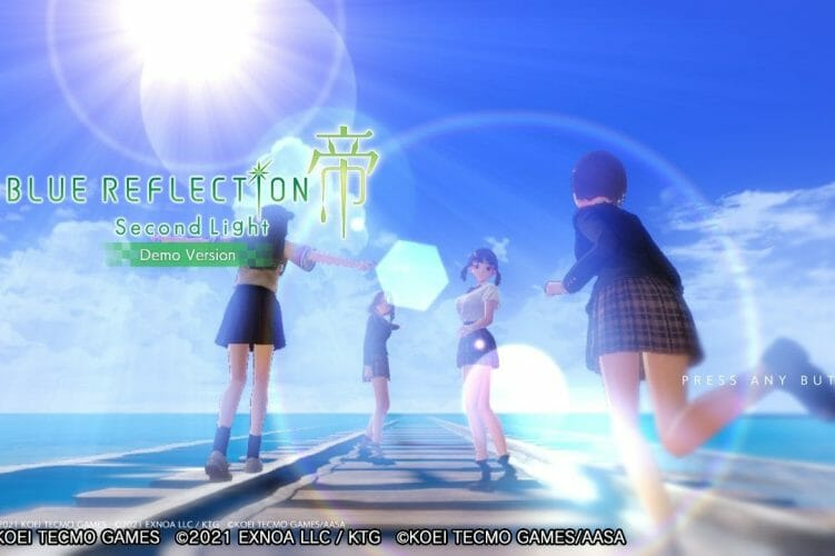 Blue Reflection Second Light Demo Ya Disponible Occidente Nintendo Switch PS4